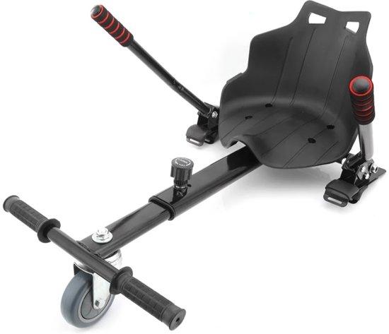 Hoverkart -  Hoverseat voor Hoverboard – Zwart