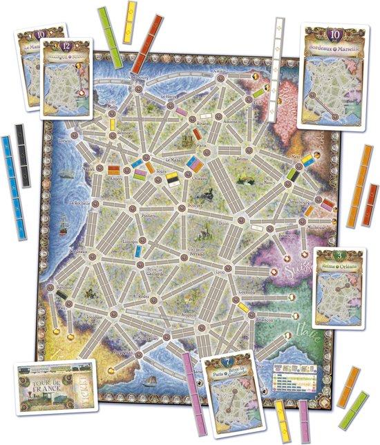 Ticket to Ride France/Old West - Bordspel - Uitbreiding