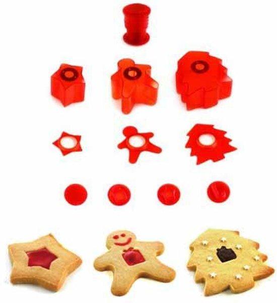 Koekjes uitsteekset 'Deco Cutter' kerst - Mastrad