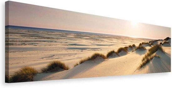 REINDERS Northsea Dunes - Schilderij - 118x40cm