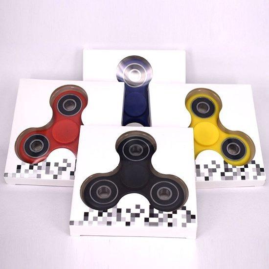 Fidget Spinner |Hand Spinner Draaier | Stress verminderende Speel Spinner | Stress Spinner | Rage van 2017 | Kleur Zwart