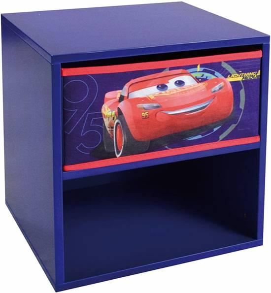 Mickey Mouse Nachtkastje.Bol Com Disney Cars Nachtkastje Met Laadje 36 X 33 X 30 Cm Blauw