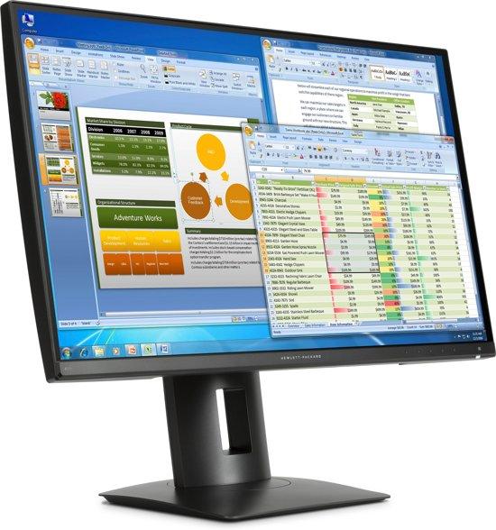 HP Z27n 27'' 2K Ultra HD LED Mat Zwart computer monitor