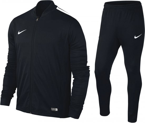Nike Academy 16 Knit Trainingspak - Senior - Zwart - Maat M