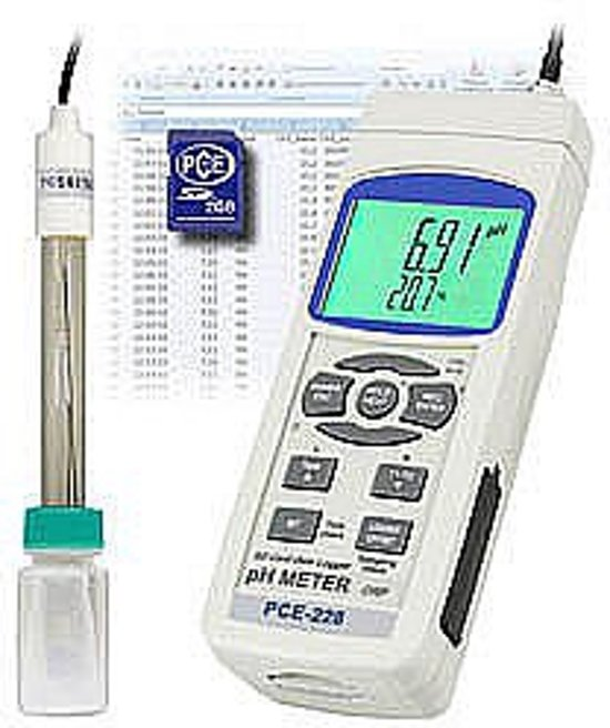 pH Voedselthermometer PCE-228