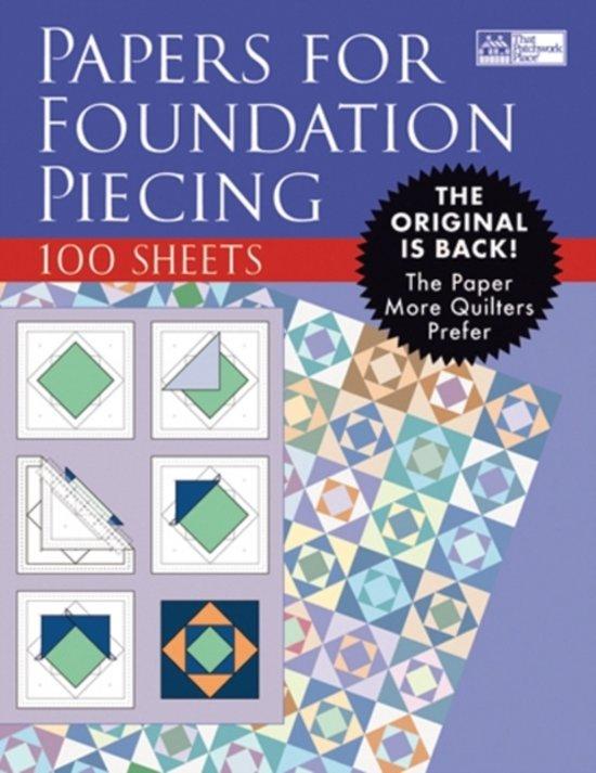Gratis Paper Piecing Patronen.Bol Com Papers For Foundation Piecing That Patchwork