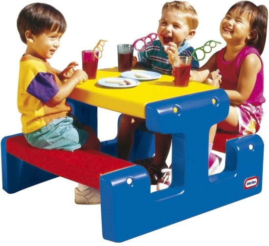 Picknicktafel Kinderen Little Tikes.Bol Com Little Tikes Primary Picknicktafel Little Tikes Speelgoed