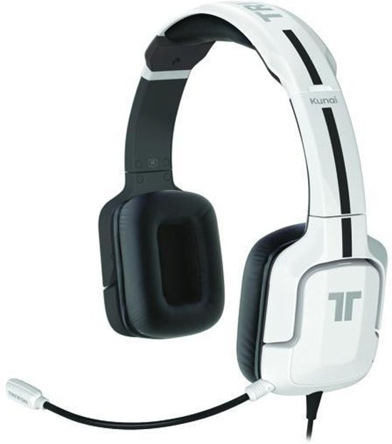 Tritton Kunai Stereo Headset - Wit  (PS3 + PS4 + PS Vita)