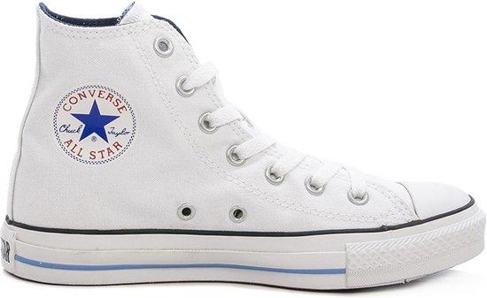d67c8cee3d5 bol.com | Converse Chuck Taylor All Star Hi Fresh Colours - Sneakers - Wit/Blauw  - Maat 36.5