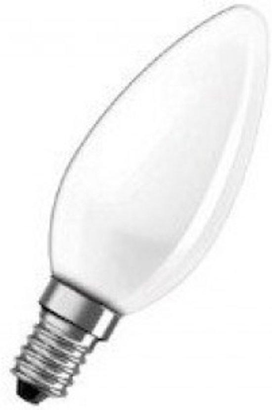 Kaarslamp E14 230v 40w MAT