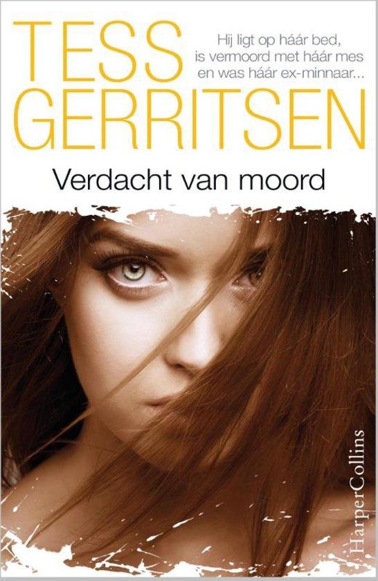 Boek cover Verdacht van moord van Tess Gerritsen (Onbekend)