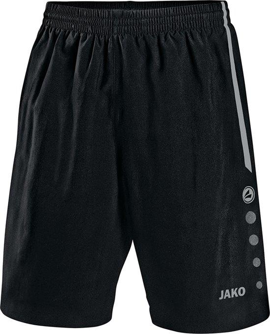 Jako - Shorts Turin - zwart/grijs - Maat 164