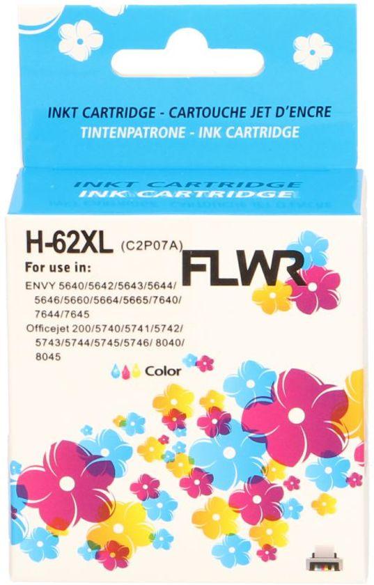 FLWR 62XL kleur (C2P07AE) geschikt voor HP