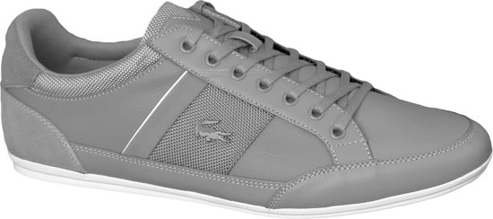 Lacoste Chaymon 116 SPM00802G2, Mannen, Grijs, Sneakers maat: 46.5 EU