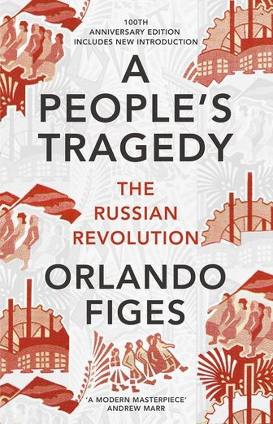 Boek cover A Peoples Tragedy van Orlando Figes (Onbekend)