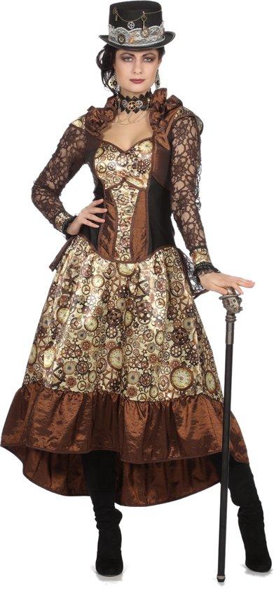 Steampunk jurk Lacey voor volwassenen