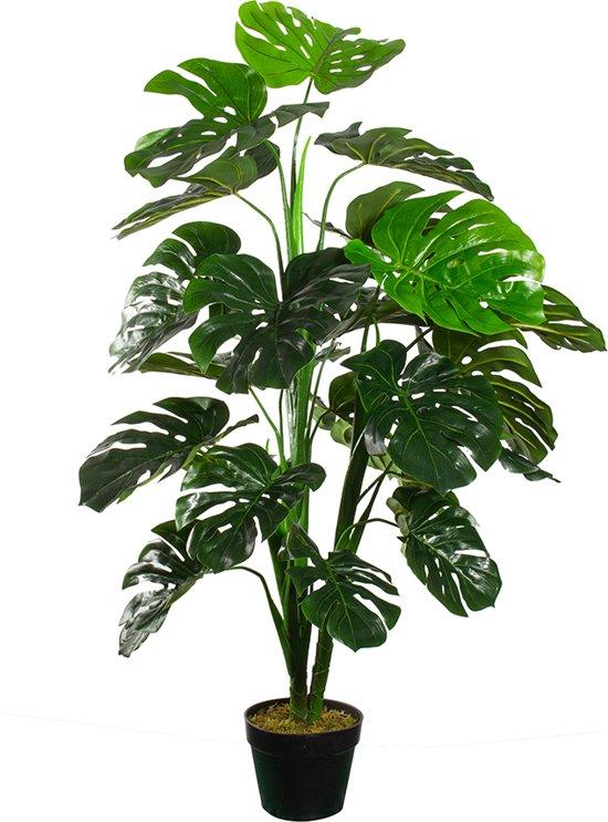 Kunstplant Monstera - 120cm