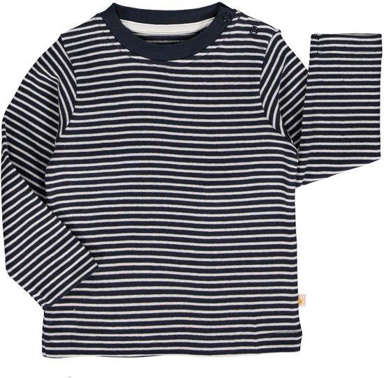 Zeer bol.com | Blue Seven Jongens Shirt Blauw Wit gestreept - Maat 62 OT83