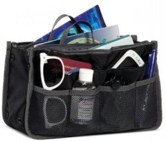 be5f89814e9 Handtas organiser - Netjes en geordend - Bag in Bag - 28x9x16.5 cm -