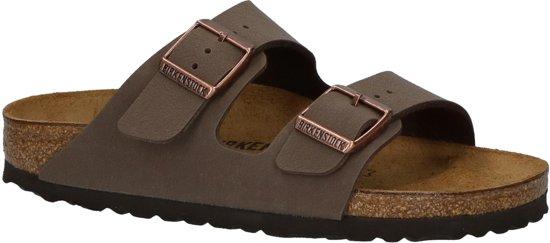 51e2744c759 Birkenstock - Arizona - Sportieve slippers - Jongens - Maat 38 -  Bruin;Bruine -