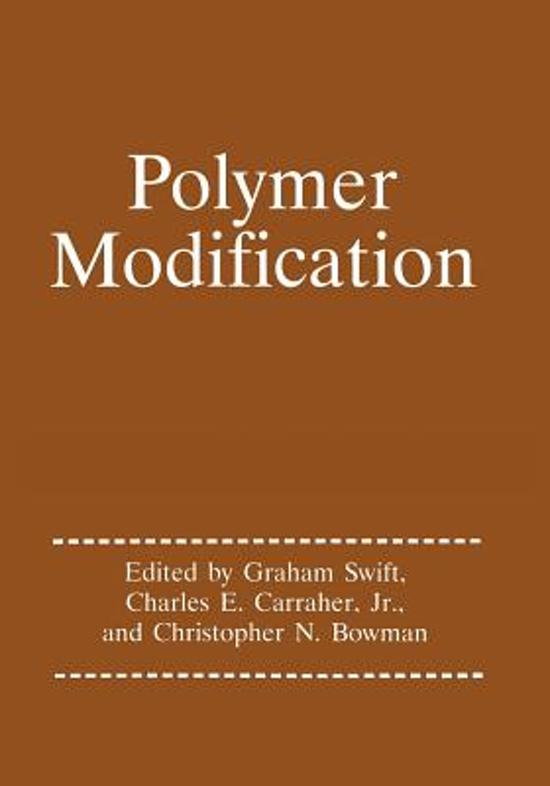 Polymer Modification