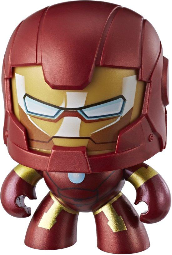 Marvel Mighty Muggs Iron Man - Speelfiguur