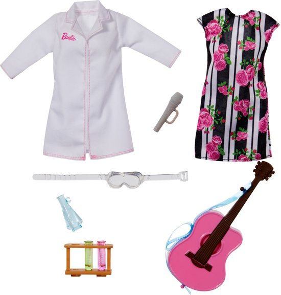 Barbie Carriere Pop met Verrassingsoutfit - Barbiepop