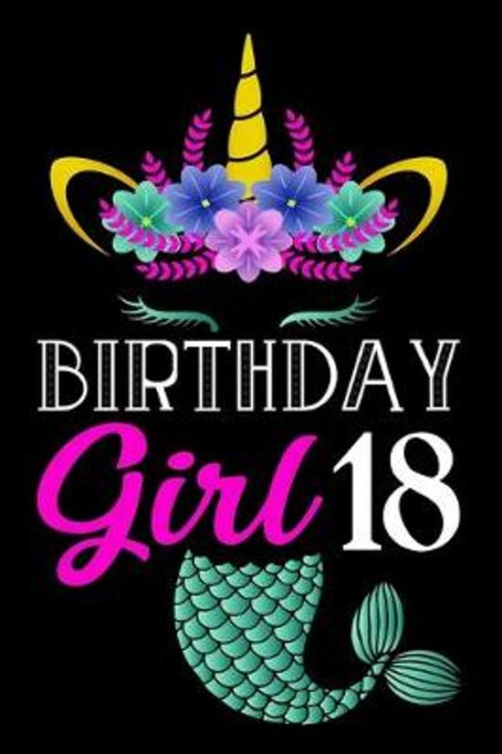 Astounding Bol Com Birthday Girl 18 A Happy Birthday 18 Years Old Mermaid Funny Birthday Cards Online Alyptdamsfinfo