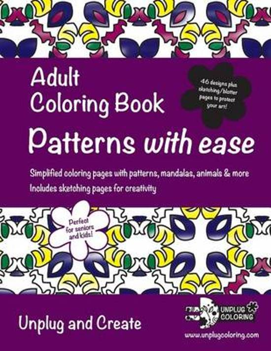 Adult Coloring Book Patterns with Ease