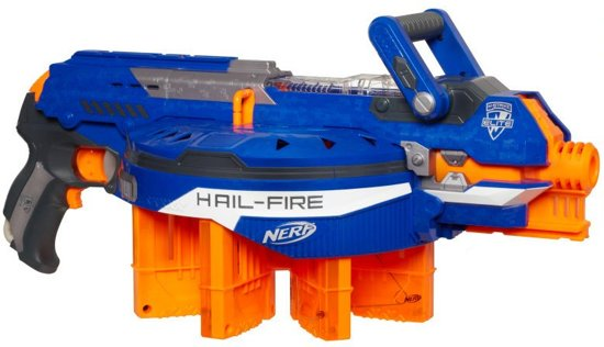 NERF N-Strike Elite Hail-Fire - Blaster