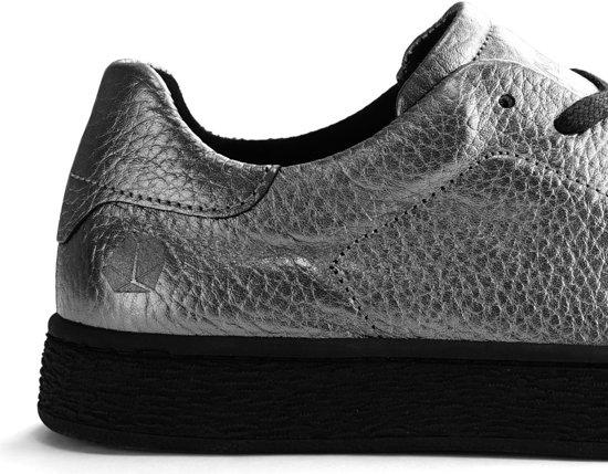 C Leren Damessneaker Nogrz Zilver Maat wrenSportieve 36 f7g6bYy