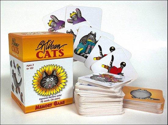 Afbeelding van het spel B. Kliban Cats Memory Game