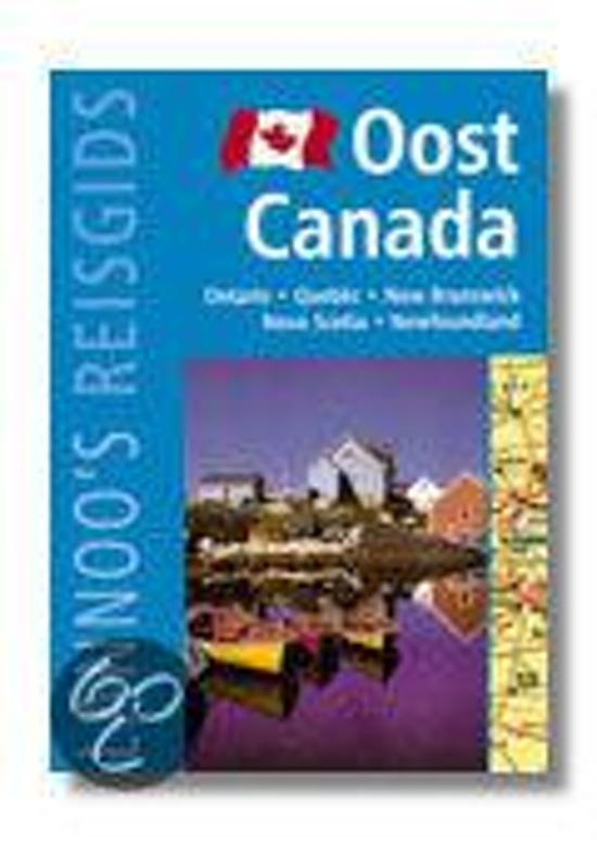 OOST-CANADA.LANNOO'S BLAUWE REISGIDS