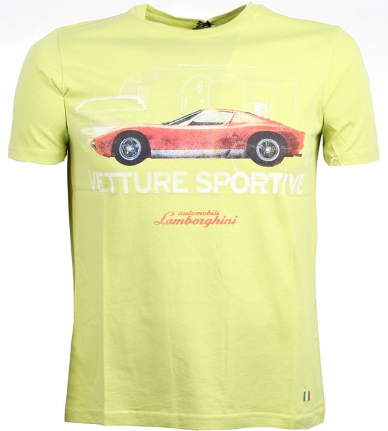 Lamborghini Vetture Sportive T-shirt Heren Maat Xxl