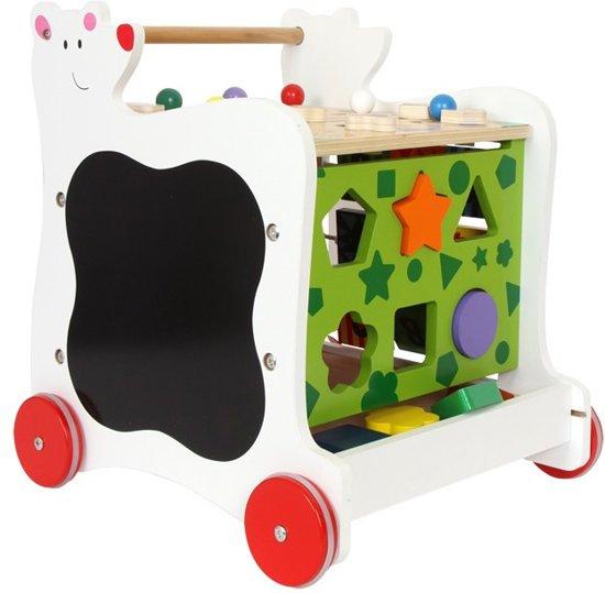 Base Toys Houten Loopwagen