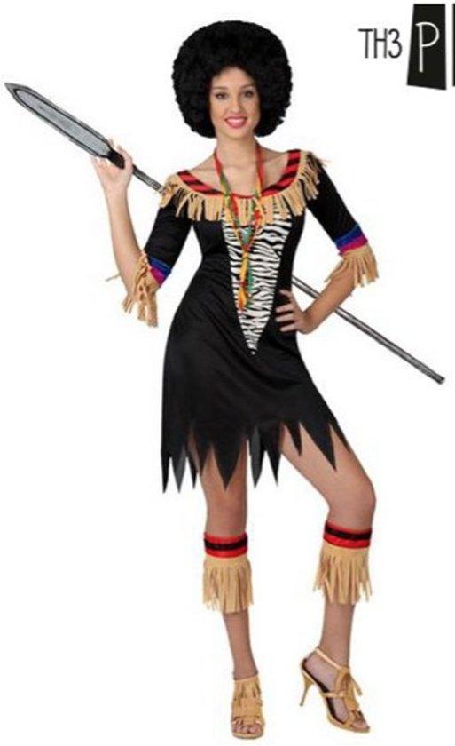 Verkleedkleding voor volwassenen - Sexy Zulu - Maat XS/S