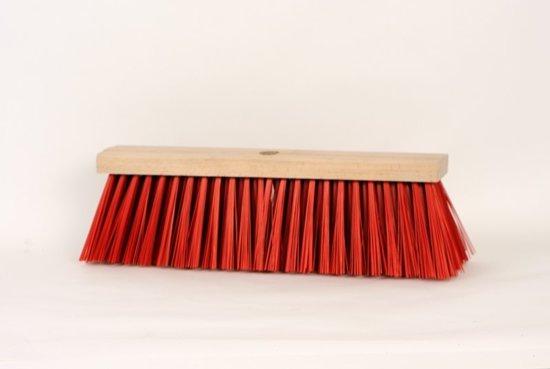 Luva gemeente bezem ppn rood 60cm bezems