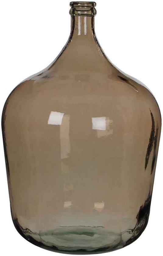 Mica Decorations diego fles glas bruin maat: 56 x 40cm