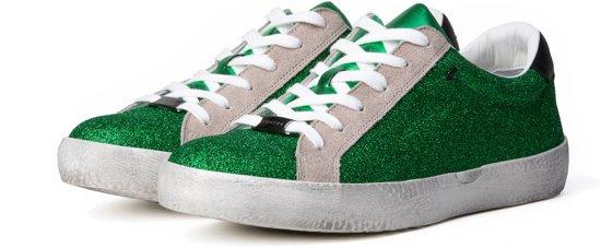 KUNOKA Joyce 2.2a green - Sneakers Dames - Wit Groen