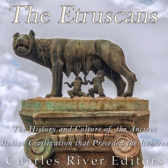 Boek cover Etruscans, The van Charles River Editors (Onbekend)