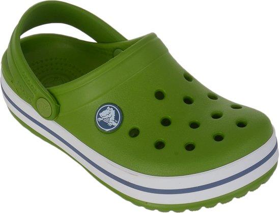 Ii Sandales Crocs Crocband De Randonnée - Taille 20/21 - Unisexe - Vert / Blanc G9McYLqQ