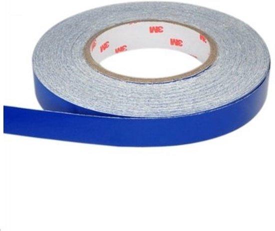 Reflecterende Tape / Stickers - Reflectie Reflector Plakband - Reflectietape Reflecterend Zelfklevend  500x2 CM -  Blauw