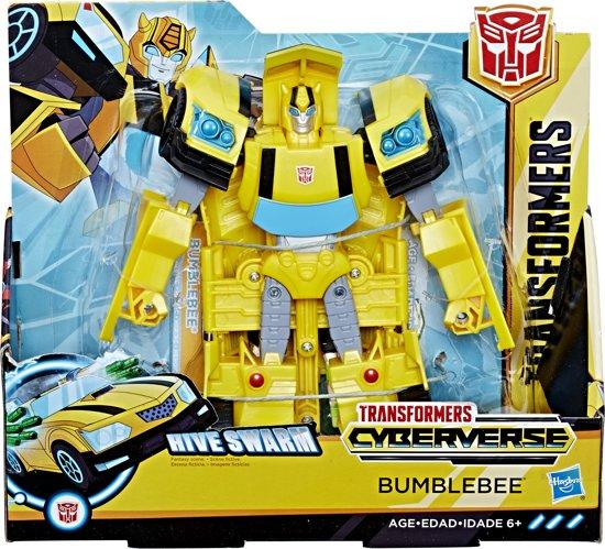 Afbeelding van Transformers Cyberverse Hive Swarm Bumblebee - Actiefiguur speelgoed