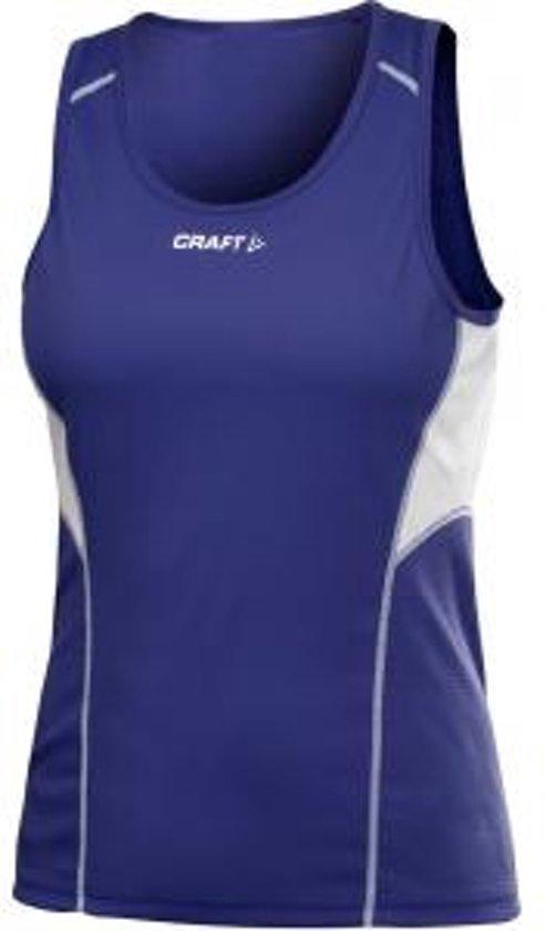Craft T&F Singlet Women cobolt l