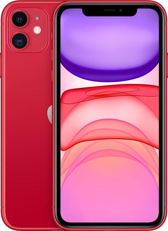 Apple iPhone 11 - 256GB - Rood