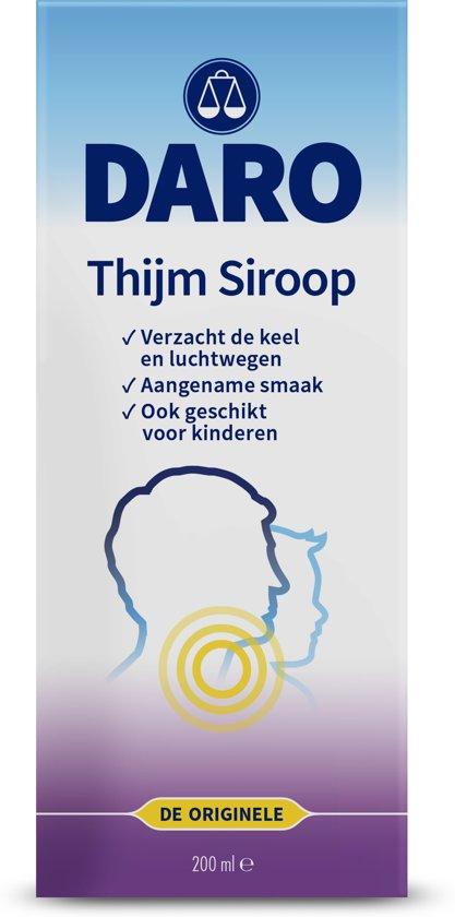 Daro Thijmsiroop - 200ml