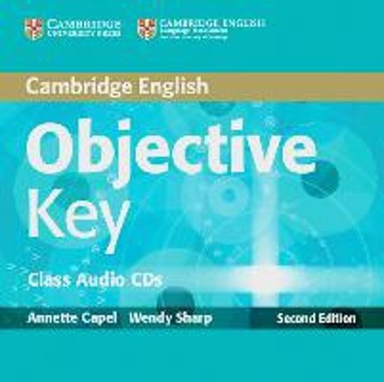 Objective Key. 2 Class Audio CDs