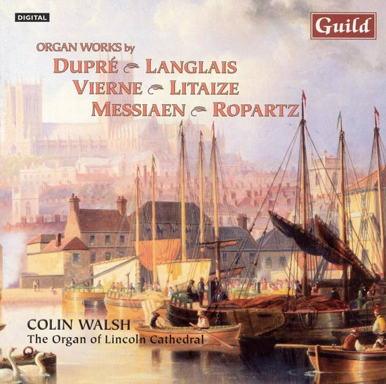 Organ Works By Dupre, Langlais