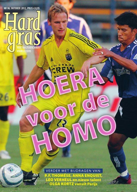 Cover van het boek 'Hard gras 86'