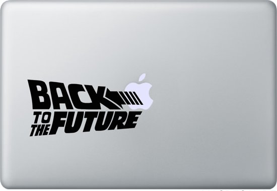 "Back to the Future MacBook 11"" skin sticker"